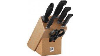 Zestaw 4 noży w bloku ★★★★ ®FOUR STAR