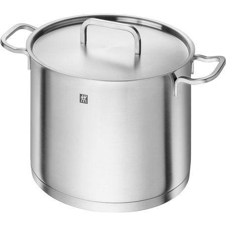 Wysoki garnek do zupy z pokrywką Zwilling® Moment - 24 cm