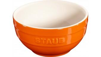 Mała miska okrągła Staub - pomarańczowa