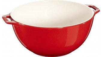 Duża miska z dwoma uchwytami Staub - czerwona